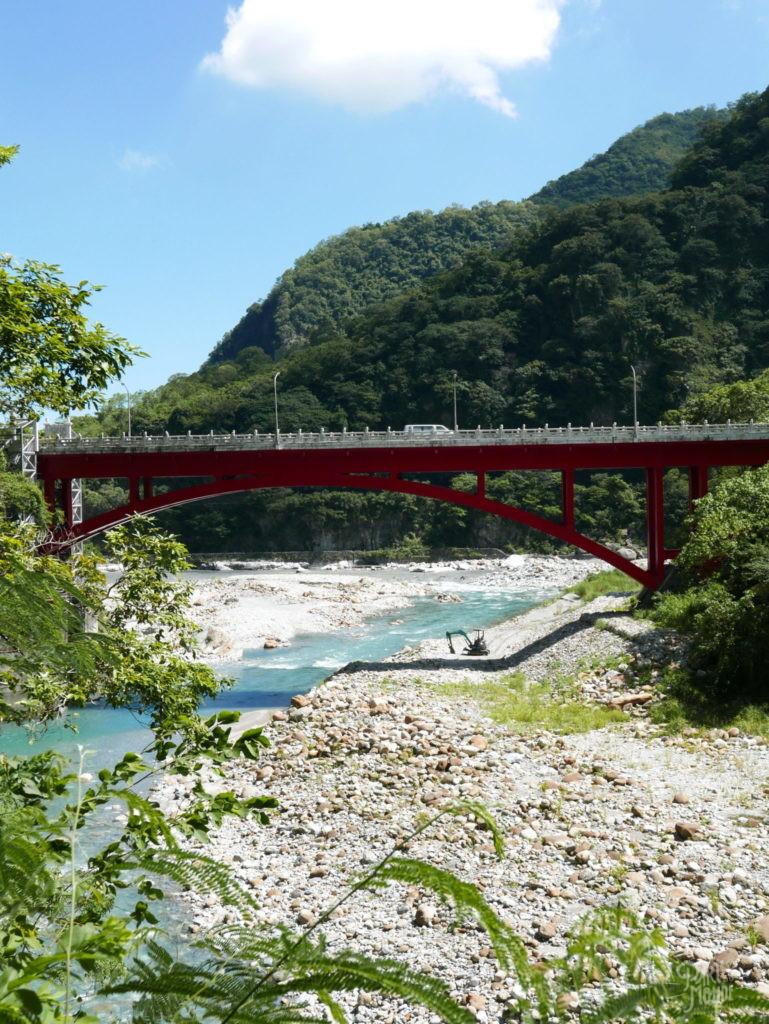 gorges de taroko pont