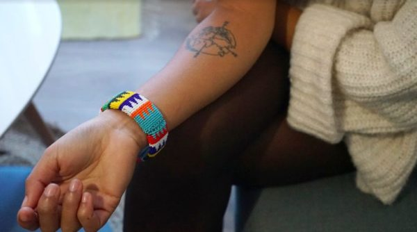 bracelet rigide en perles afrique du sud
