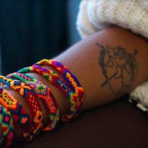 bracelet tissé mexique