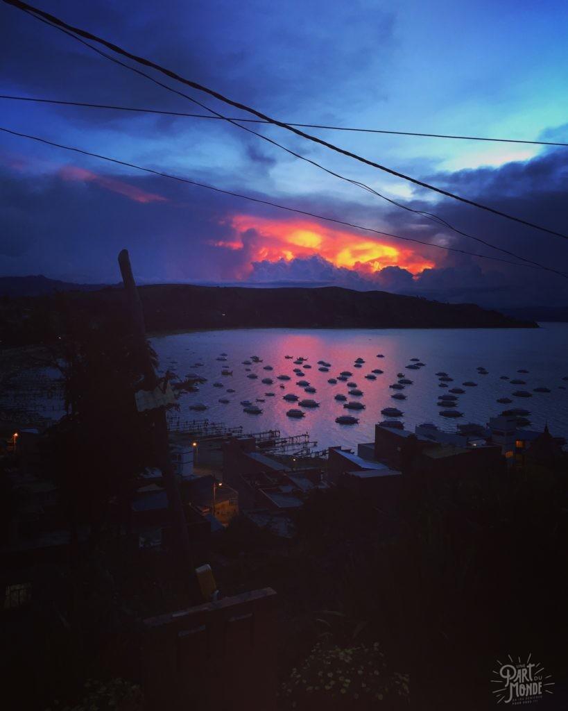 coucher de soleil titicaca copacabana