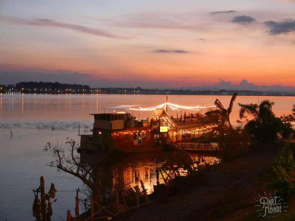 coucher du soleil laos retour de mon tour du monde