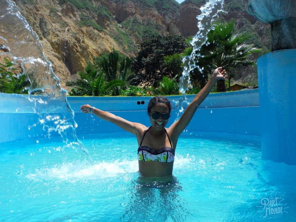 piscine canyon del colca