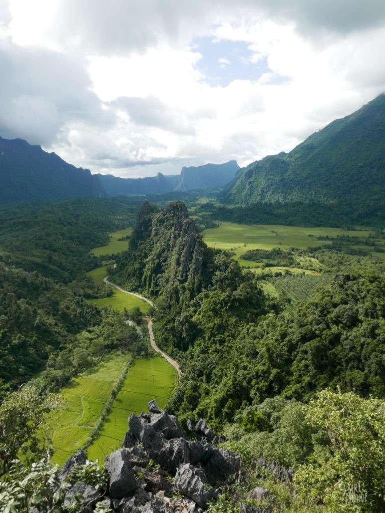 retour de mon tour du monde laos vang vieng