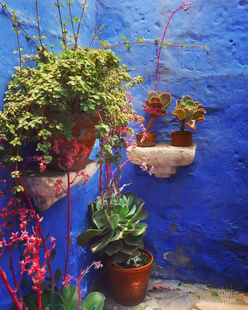 covento santa catalina arequipa bleu