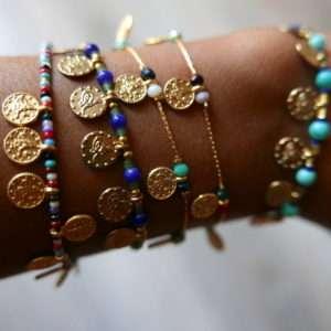 bracelet istanbul médailles