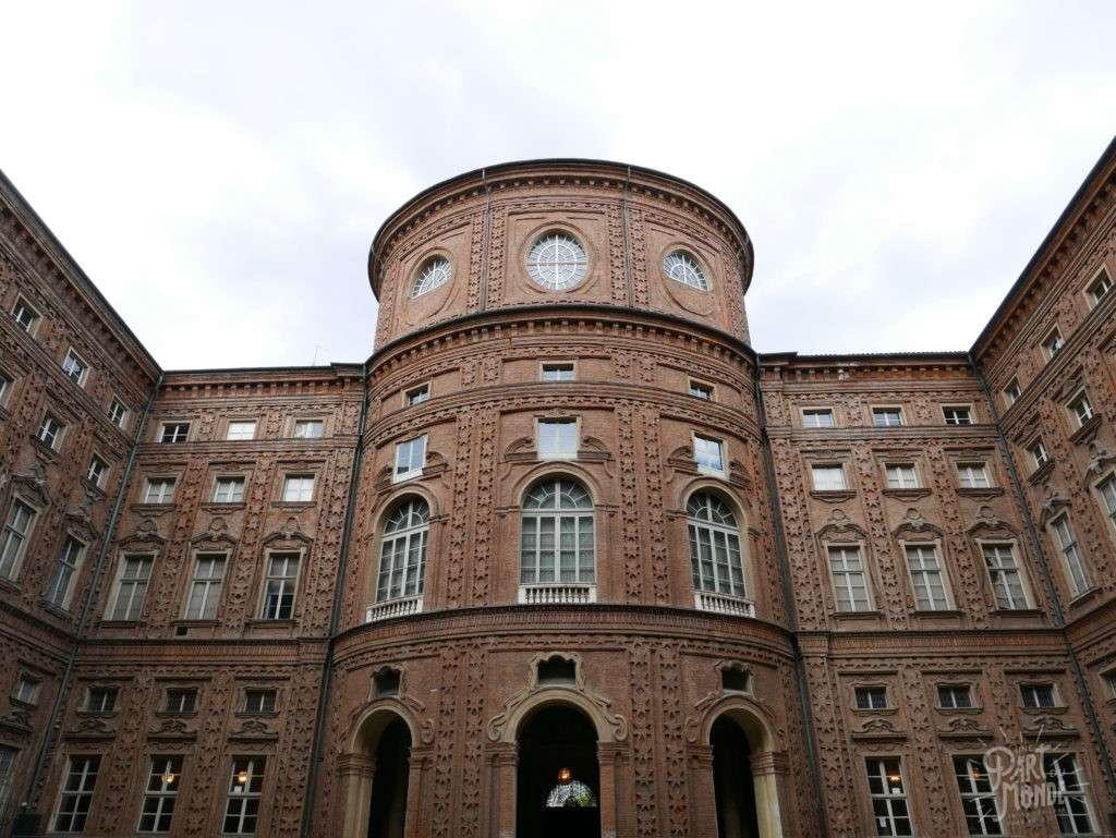 palais carignano facade
