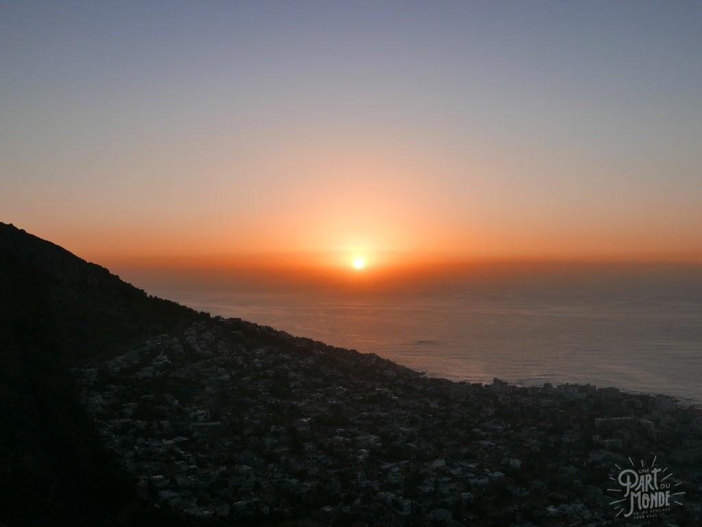coucher de soleil capetown