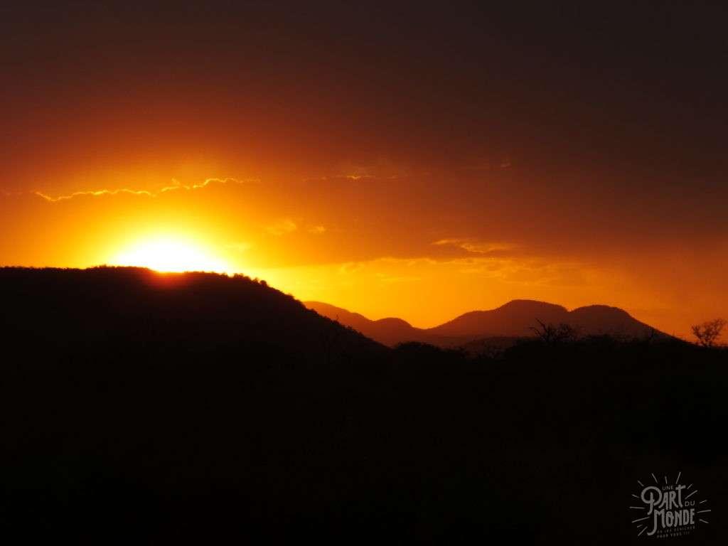 madikwe safari sunset