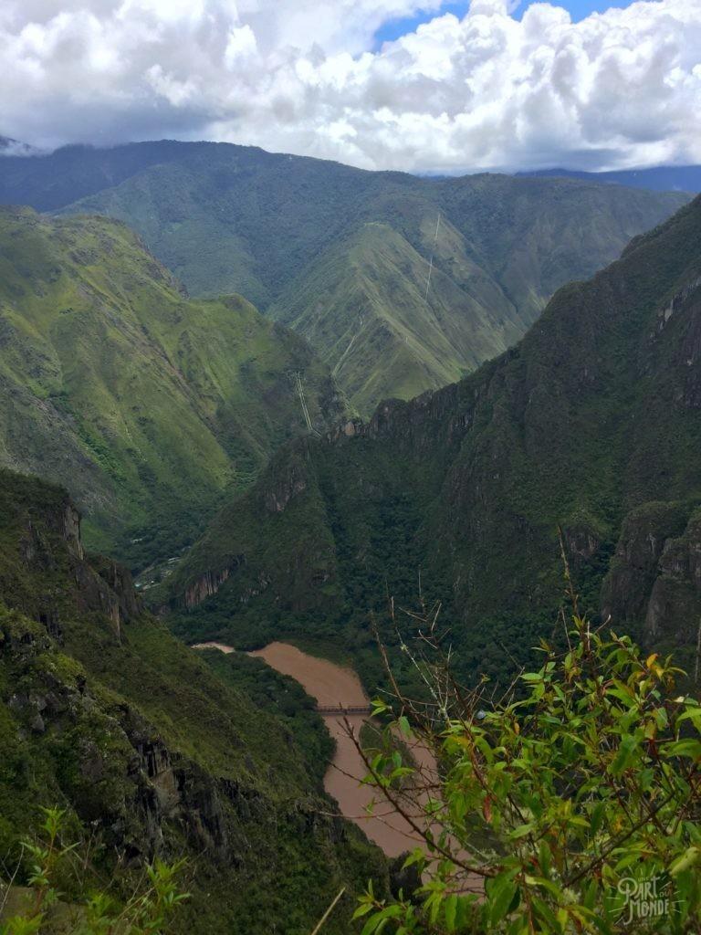 vue canyon machu picchu