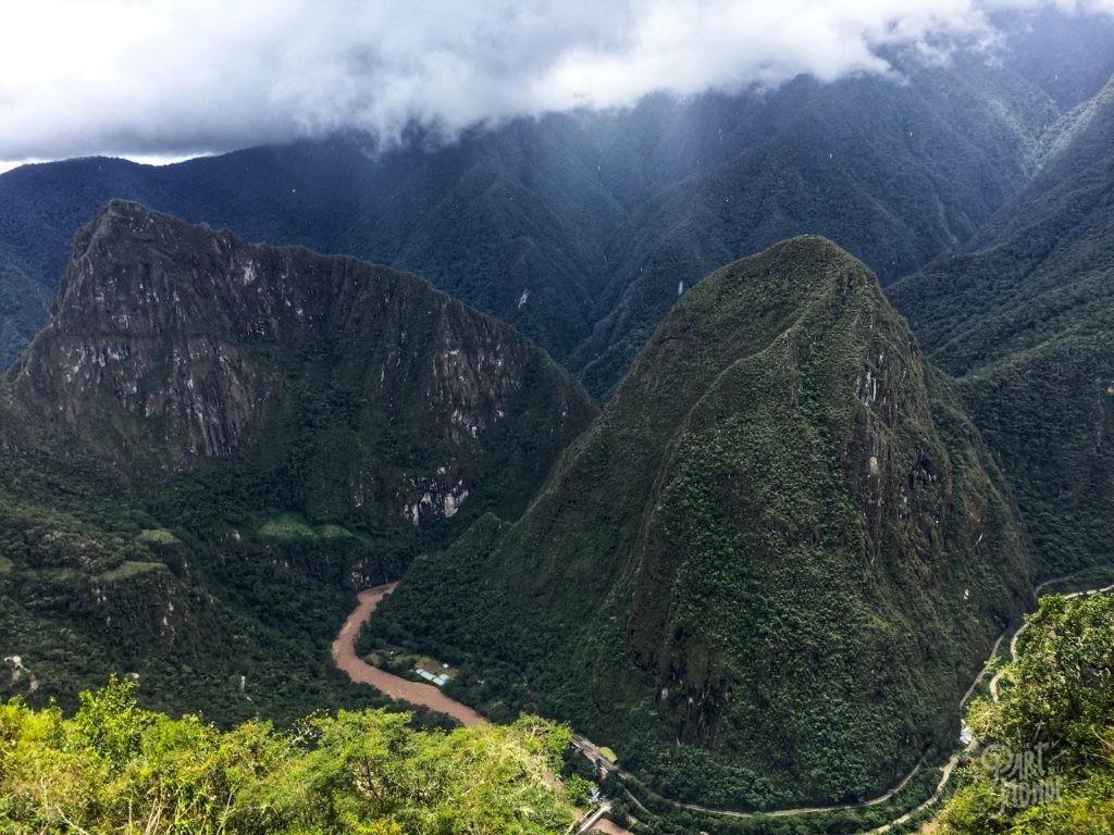 vue montagne machu picchu