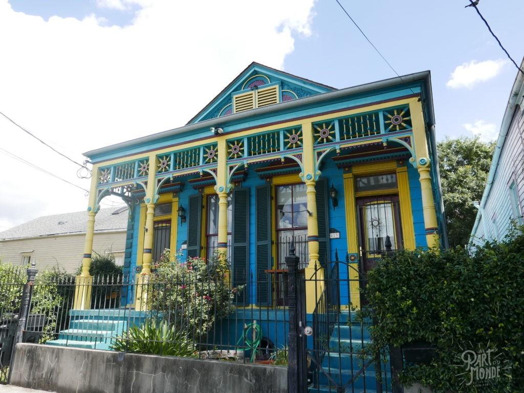 maison colorée nouvelle orléans