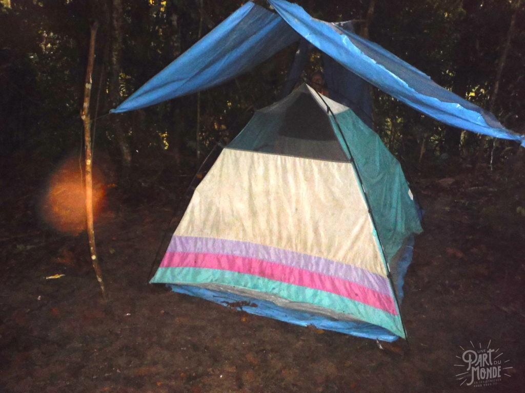 amazonie campement selva