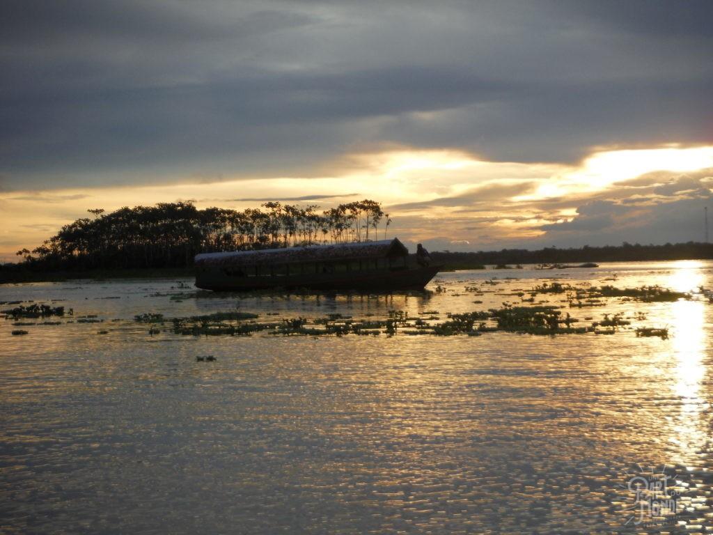 coucher de soleil 2 amazonie