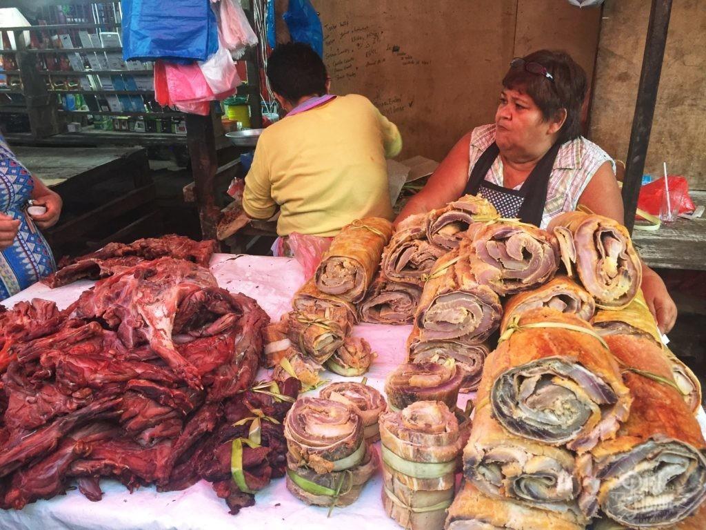 poisson marché belen amazonie