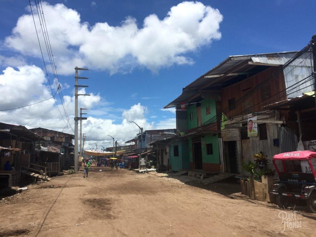 rue nanay amazonie