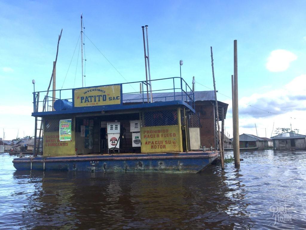 station service flottante belen