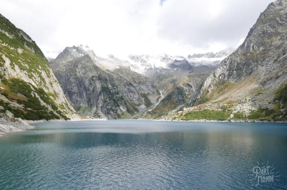 Suisse en Van : Interlaken, Gelmerbahn et passerelle de Randa