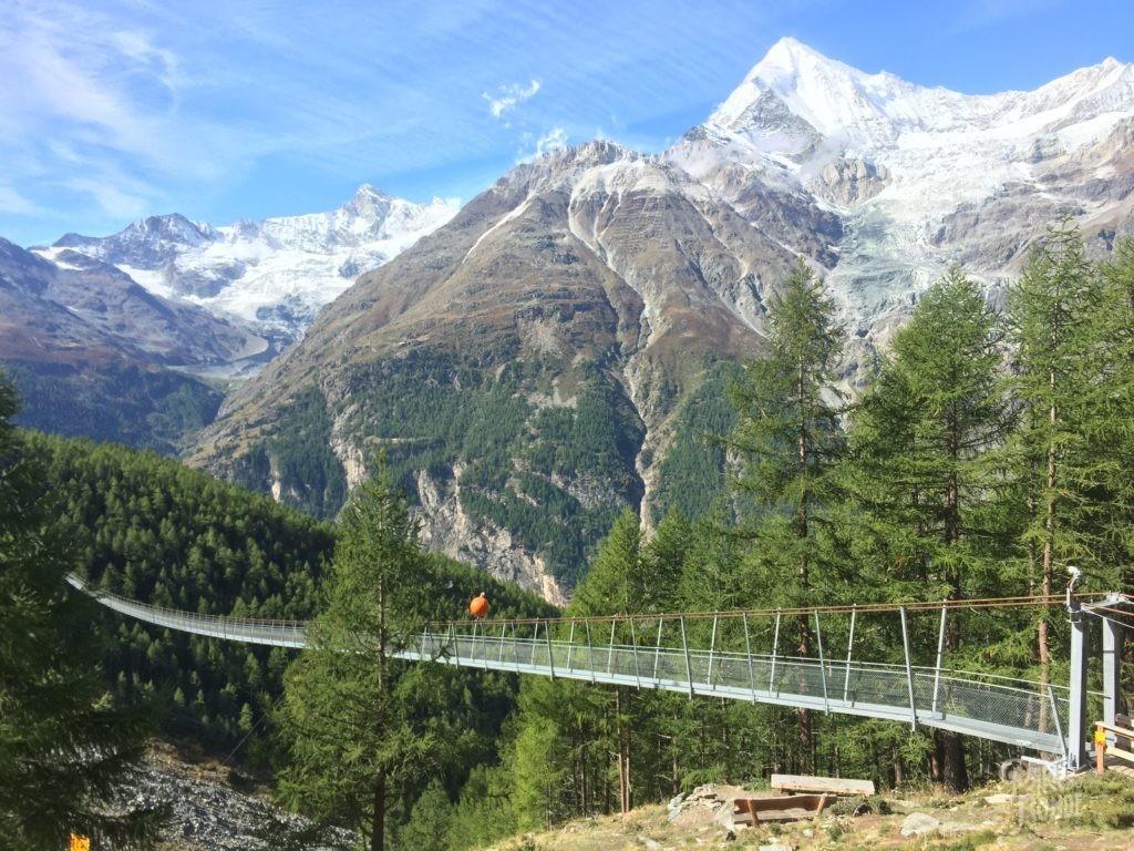 pont charles kuonen suisse