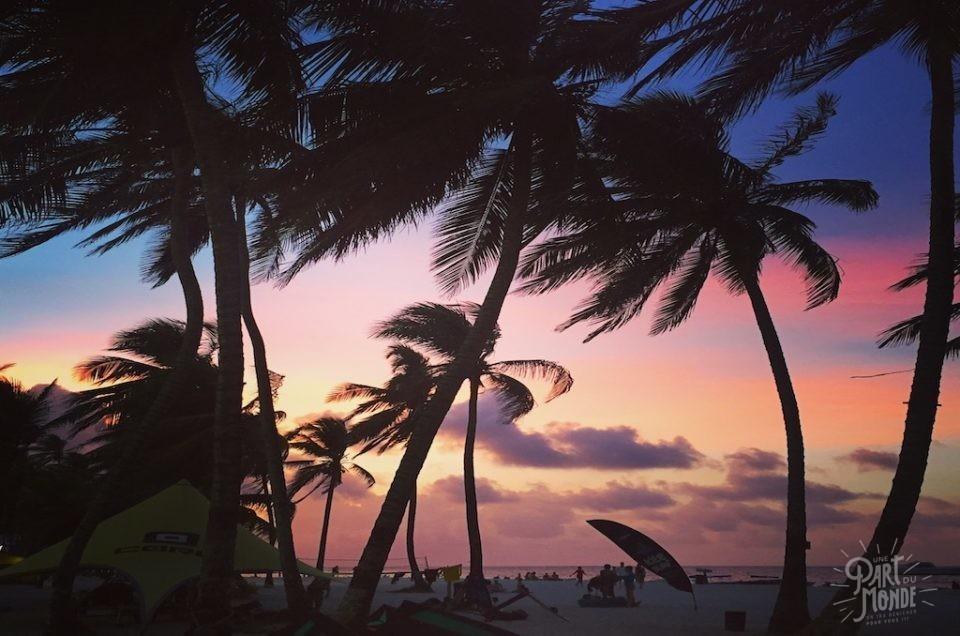 l'île San Andres-Colombie : escale de deux jours avant Providencia