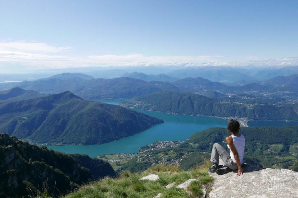 Lac de Côme en van : Randonnée de Monte Generoso et balade de la Greenway