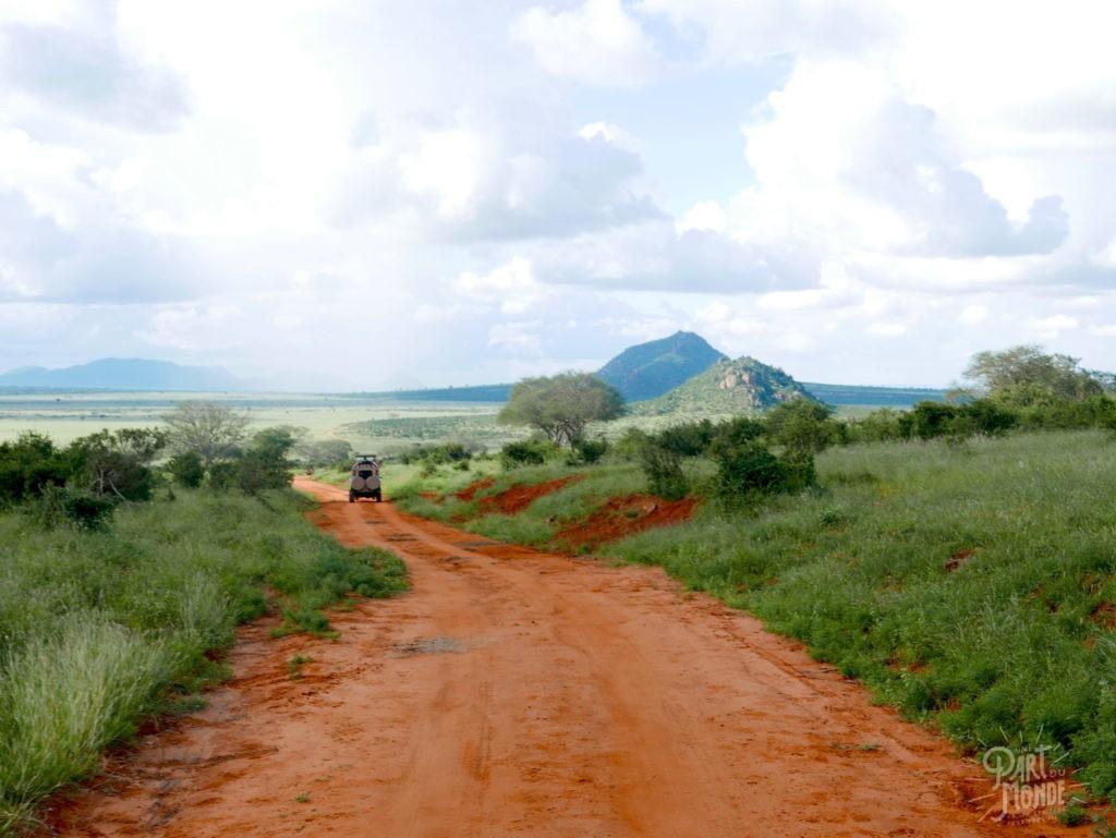 safari au kenya tsavo est