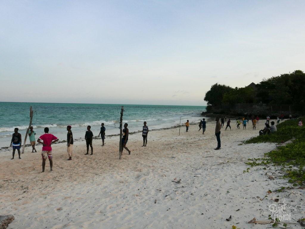 beach volley jambiani