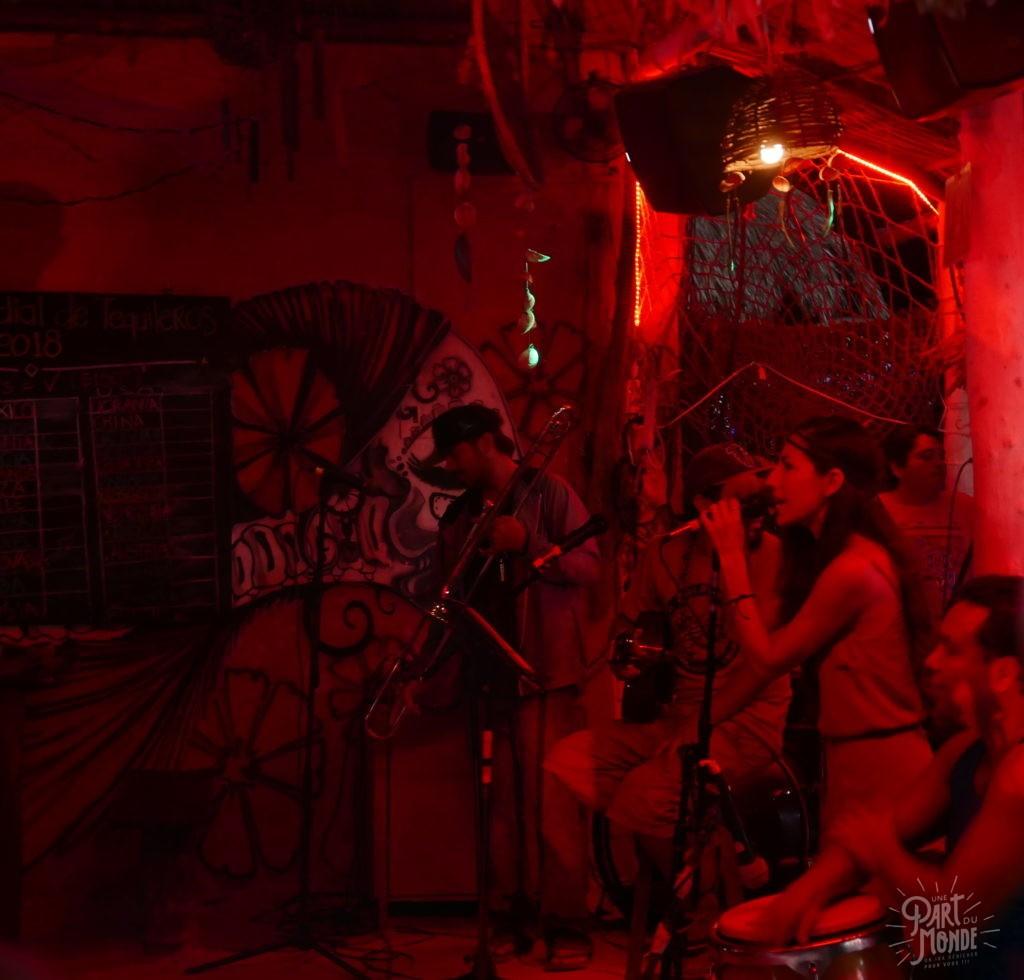 concert hot corner