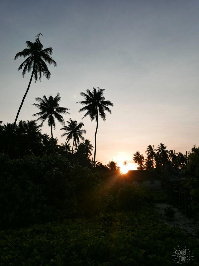 sunset jambiani