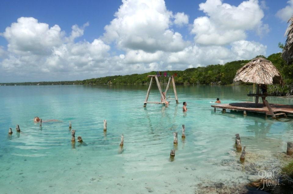 Bacalar-Mexique : incroyable lagune, cénotes et easy life