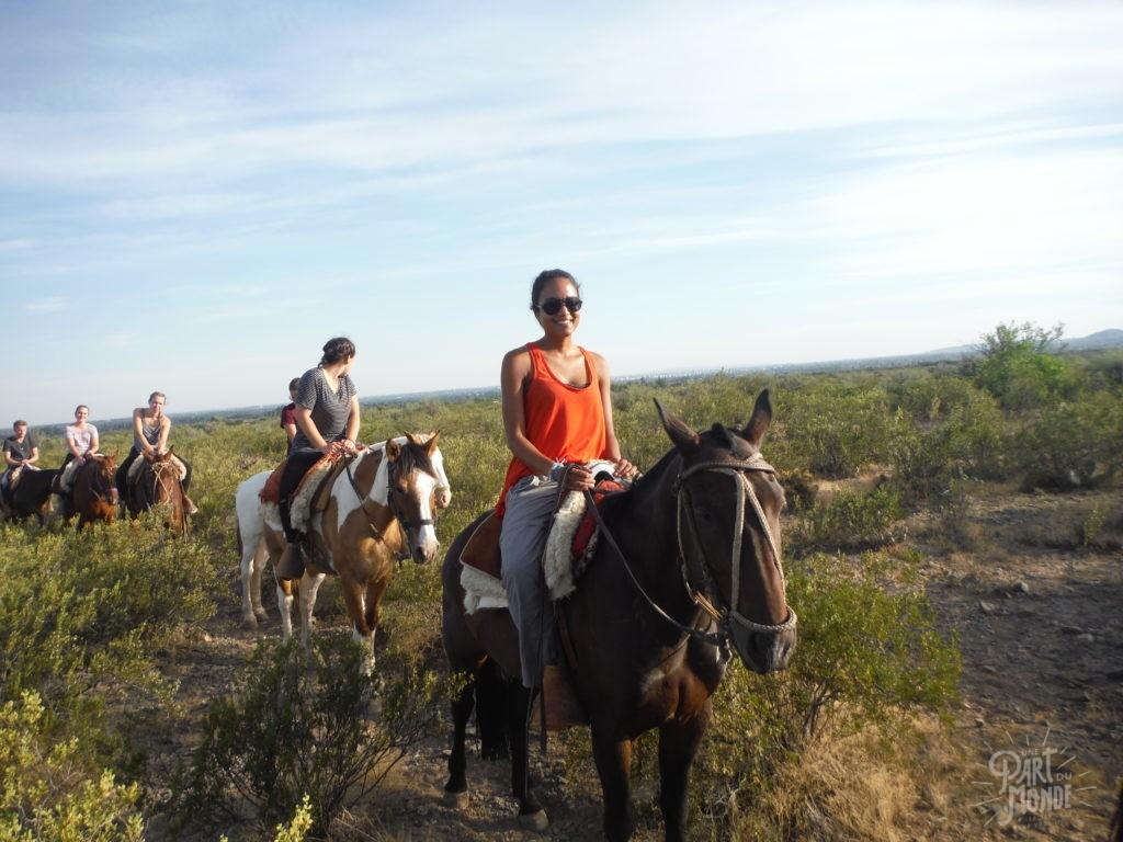 mon itinéraire en argentine-ranch