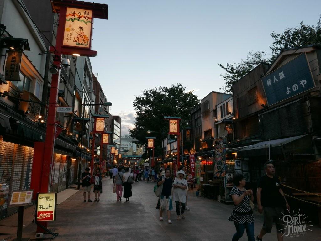asakusa rue tokyo