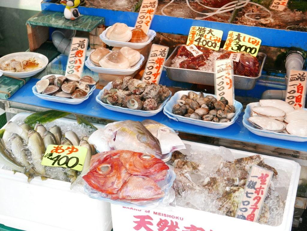 marché poisson tokyo