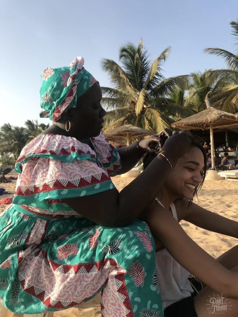 Voyage et coronavirus tressage senegal
