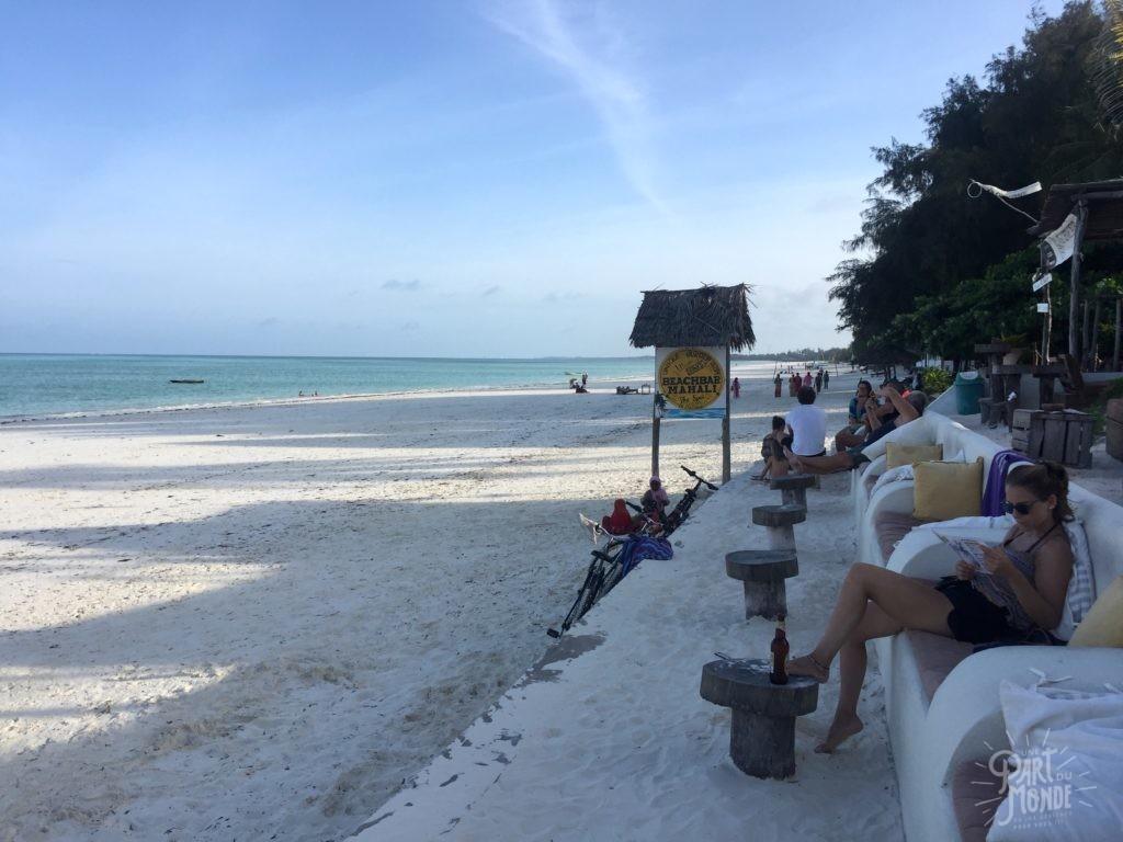 beach bar paje