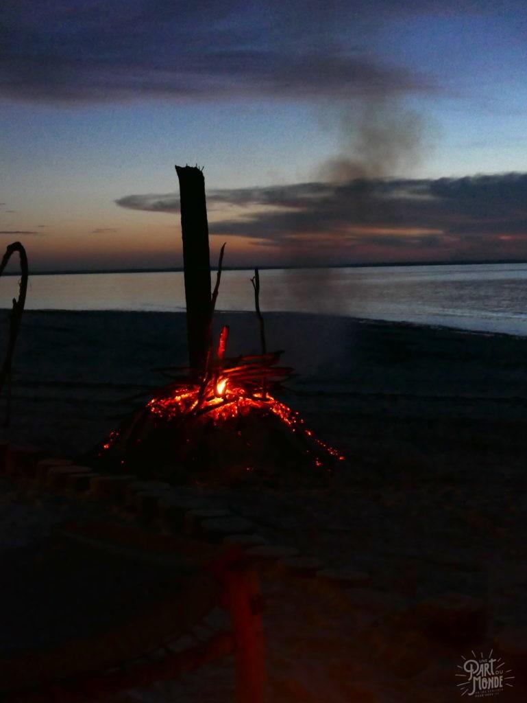 feu de camp paje