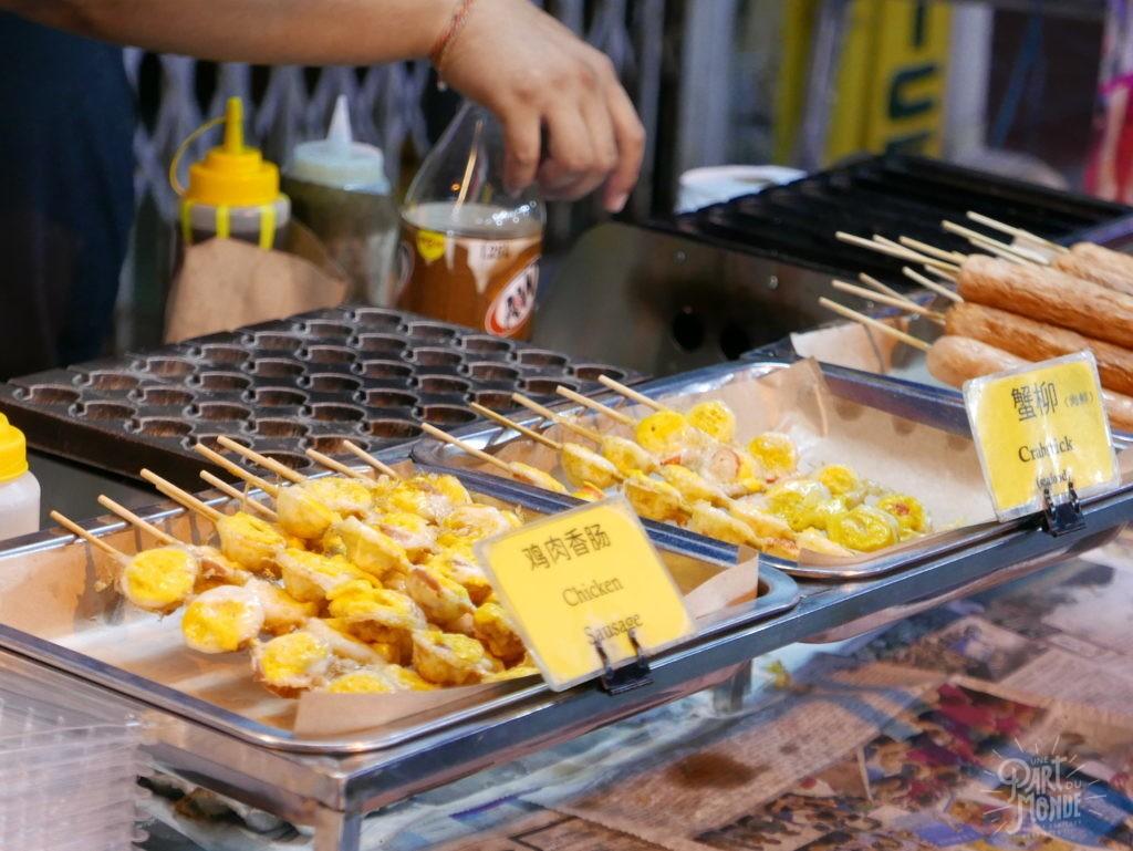 brochette malacca night market