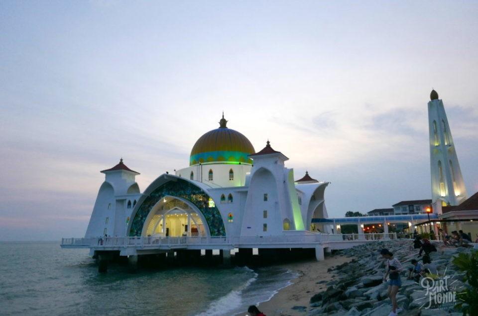 Malacca-Malaisie : street food et mosquée flottante