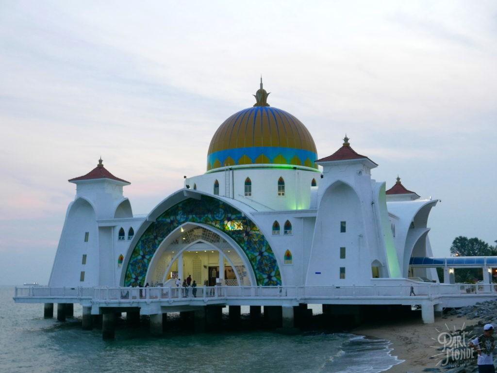 mosquée flottant malacca