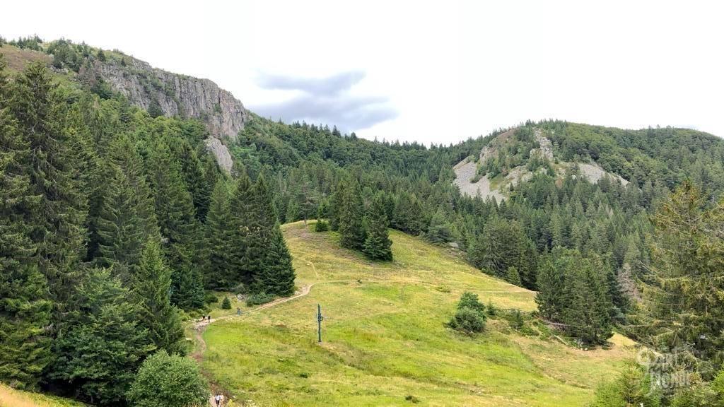 vue rochers des hischsteine vallée