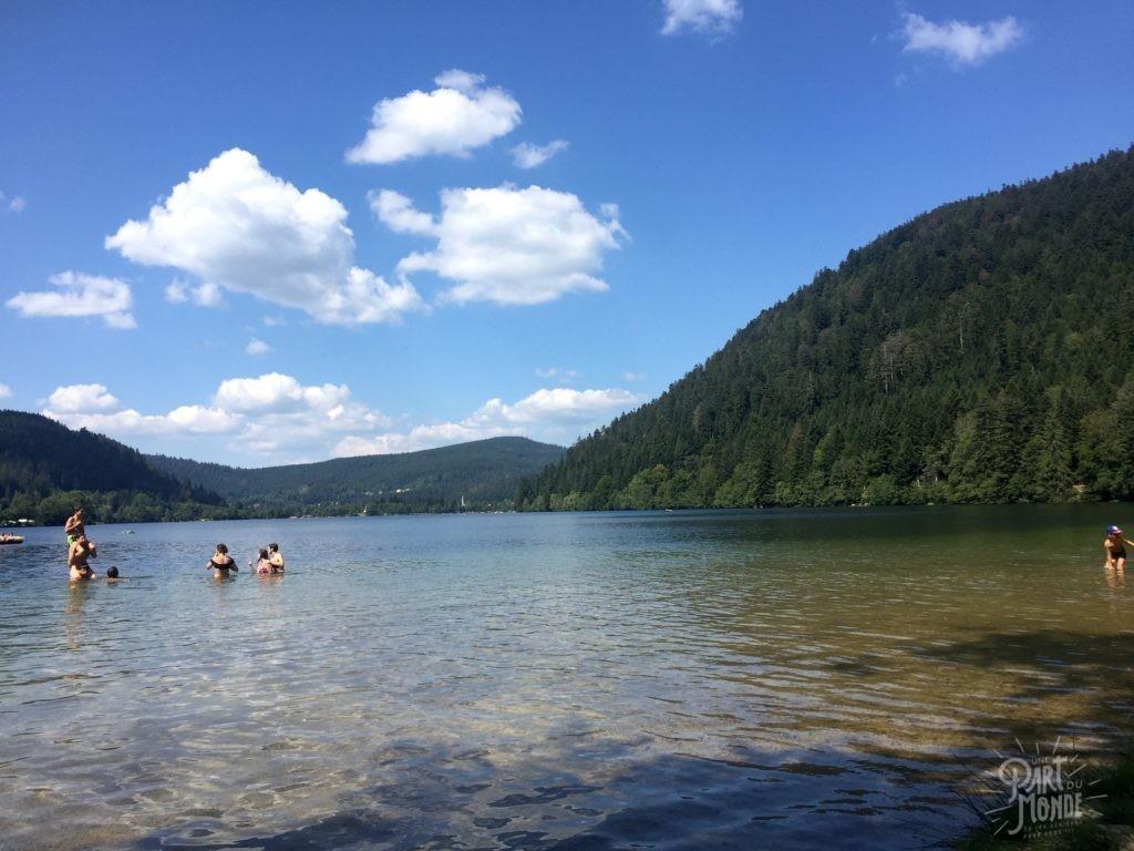 lac de longemer randonnée des 5 lacs avec bivouac