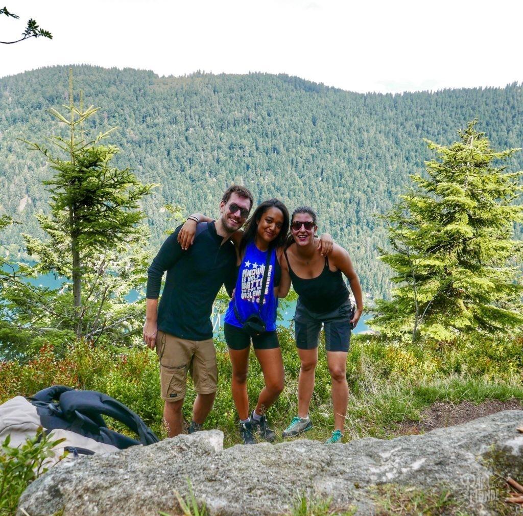 randonnée des 5 lacs avec bivouac ami