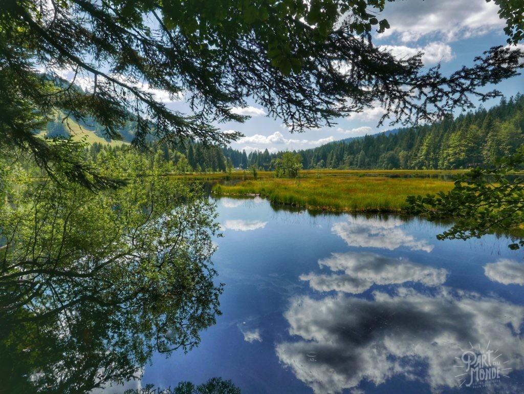 randonnée des 5 lacs avec bivouac lac de lispach