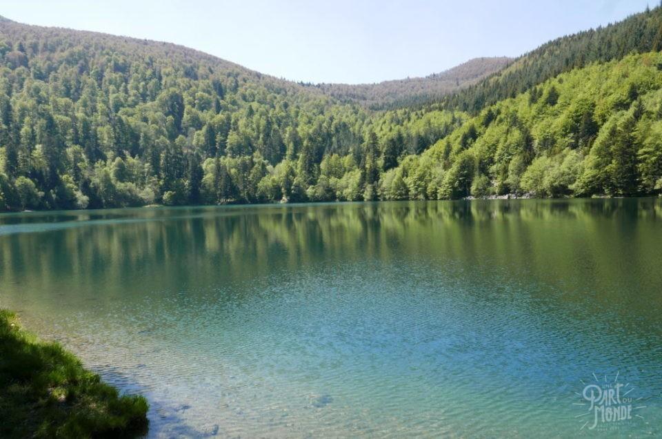 Randonnée en Alsace-Vosges : Lac du Ballon et cascade du Kletterbach