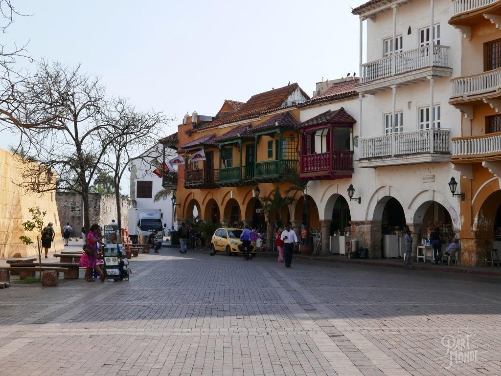 centre ville carthagène