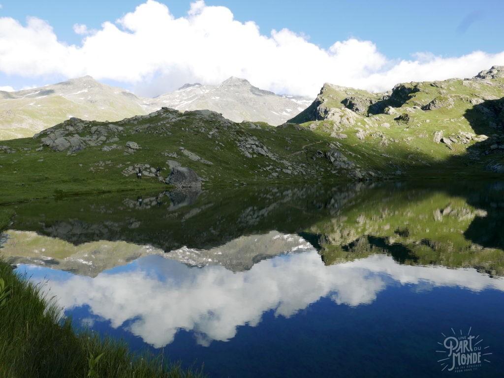 randonnée bivouac parc de la vanoise lac