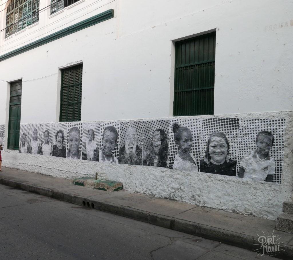 street art photo carthagène