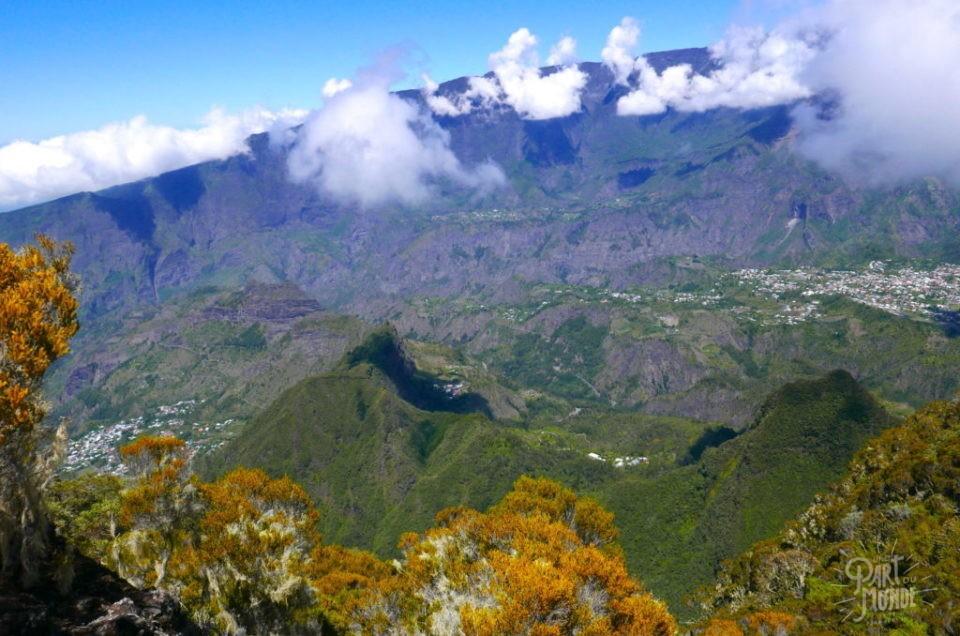 Randonnée à la Réunion :  le sentier Jacky Inard par le sentier Boeuf et Mal au Ventre